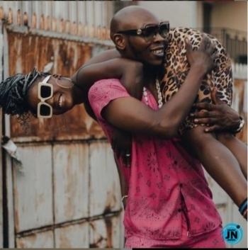 Seun Kuti celebrates 38th birthday with rare erotic photo of himself and his beautiful lover